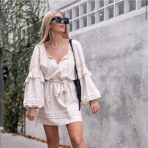 Spell & The Gypsy Lola Tunic Dress in biscuit S
